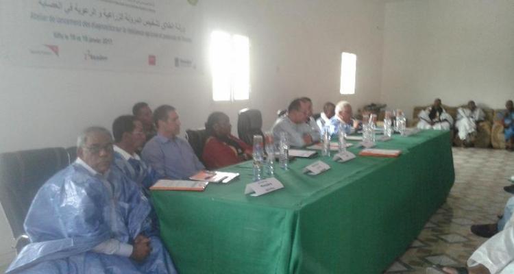 Atelier de lancement du « Projet : Appui  aux acteurs de l'agropastoralisme pour le renforcement de la résilience en Assaba